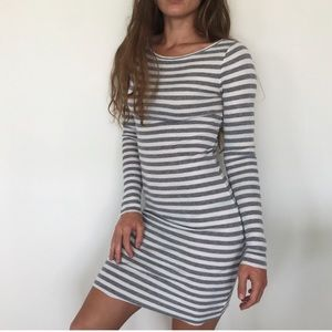 Bcbg striped dress